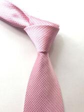 ROYAL CLASS LUXUS KRAWATTE Tie Original SEIDE Jacquard Rosa