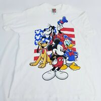 Disney Mickey Unlimited Jerry Leigh Shirt Mens xl Single Stitch Vintage 90s