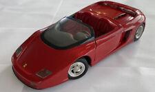 1/18 1989 Vintage Revell Ferrari Mythos Based On Testarossa, Brunei, Red, Boxed!