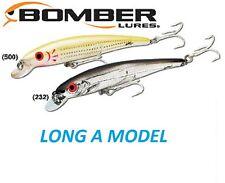 "Bomber Long A, B15A Model, 4-1/2"" ½ oz, Choice of Colors"