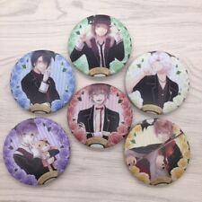 Anime DIABOLIK LOVERS badge badges pin buttons 6pcs/set cosplay 5.8cm