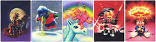 GARBAGE PAIL KIDS FLASHBACK 2 2011 COMPLETE 5-CARD 3D MOTION SET FB2 ADAM BOMB