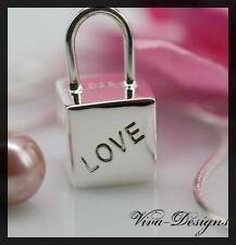 "925 Sterling Silver ""LOVE LOCK"" Pendant"