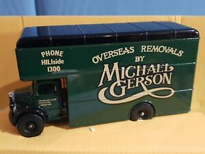 Corgi Classics Q953/8 Bedford O Series Pantechnicon MICHAEL GERSON Boxed