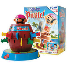 Tomy Pop-Up Pirate Childrens Action Classic Board Game