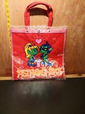 Astrosniks Bully Figuren Bag Tote Red 1983 siping milkshake Vintage Handbags
