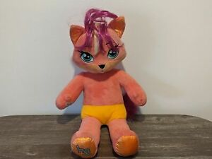 "MISHA Honey Girls HG Build-A-Bear BABW 19"" Plush Doll Stuffed Animal Kitty Cat"