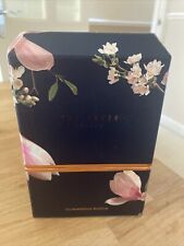 TED BAKER Midnight Glimmering Bloom Box Bath Gift Set for Her. New