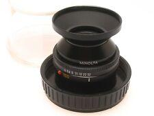 Minolta Auto Bellows Macro 100mm F4 Lens