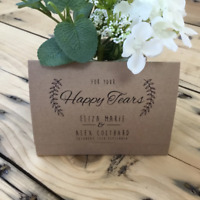 Personalised Wedding Tissue Favour Holders Favor Tissue Wallet