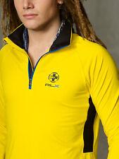 Rlx Ralph Lauren Men's Half-Zip Pullover Jersey Yellow