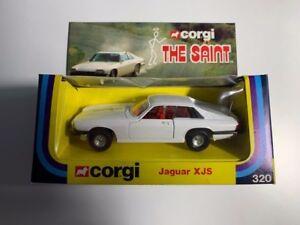 Coche Corgi 320 The Saint Jaguar XJS