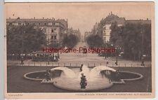 (94955) AK Mannheim, Heidelberger Straße, Blick vom Wasserturm 1928
