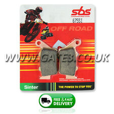 Husqvarna CR125 CR 125 1996-2004 SBS 675SI Sintered Competition Rear Brake Pads