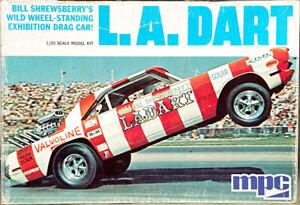 """MPC Wild Bill Shrewsberry """"LA Dart"""" '70 Dodge Dart Wheelstander, Original Issue"""