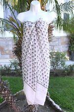 New Owl Modern Sheer Sarong Pareo Bikini Coverup Shawl Scarf Shawl Dress Wrap