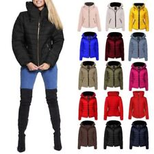Polyester Winter Coats & Jackets Puffer for Women