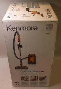 *NEW* Kenmore 81214 200 Series Bagged Canister Vacuum - Orange