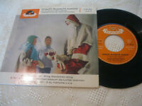 "7"" Single Knecht Ruprecht kommt Kinderchor Erich Bender Vinyl Polydor 21 089 EPH"