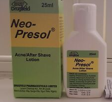 Neo-Presol Acne/Aftershave Lotion/Cream 25ml. For men, women and teens. New
