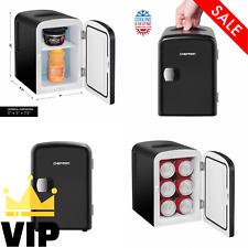 Mini Portable Fridge For Bedroom Office Car Desk Work Small Refrigerator Freezer