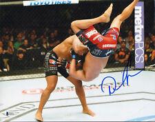 DANIEL CORMIER SIGNED AUTO'D 11X14 PHOTO BAS COA UFC VS DAN HENDERSON SLAM 173 B