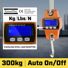 NEW 300 KG ELECTRONIC CRANE SCALES INDUSTRIAL HANGING DIGITAL WEIGHT