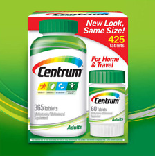 Centrum Adults Multivitamin, 425 Tablets(365 +60)