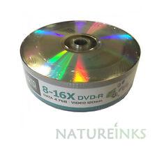 25 Arita Branded logo DVD-R 8x - 16x Blank DVD Discs 4.7 GB 120 mins Ritek