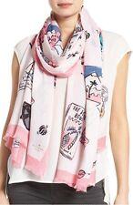kate spade new york travel scrapbook scarf