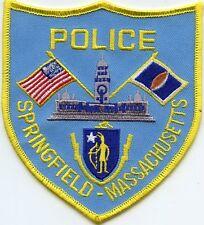 SPRINGFIELD MASSACHUSETTS MA POLICE PATCH