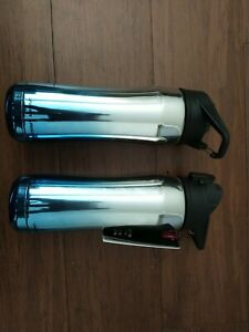2 X Under Armour Beyond 18 Ounce Stainless Steel Water Bottle, Blue Chrome
