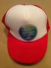 """O'Neill Trucker Snapback Hat """"Salt Water Soothes The Soul"""""""