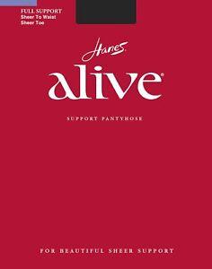 Hanes Alive Women`s Sheer to Waist Pantyhose - Best-Seller!