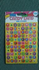 New Candy Land mini stickers from Eureka by Hasbro school rewards behavior