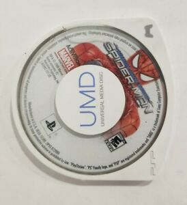 Spider-Man: Web of Shadows - Amazing Allies Edition (Sony PSP, 2008) Game Only