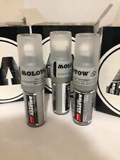 Molotow 440 Black Permanent Paint Marker Pen Refillable Multi Purpose
