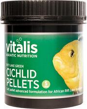 New Era Vitalis Rift Lake Green Cichlid Pellets S 120g Fish Food 1.5mm Malawi