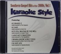 Southern Gospel Hits of the 2000s Volume 1 Karaoke Style NEW CDG Daywind 6 Songs