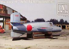 """Brengun Models 1/72 Bachem Ba349A Natter """"What if?"""" Model Kit"""