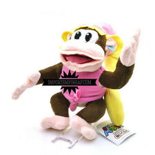SUPER MARIO BROS DIXIE KONG PELUCHE plush diddy donkey country returns new wii u