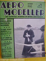 RARE AEROMODELLER OCTOBER 1938 UNIVERSE EXPRESS HAWKER DEMON MODEL AIRCRAFT
