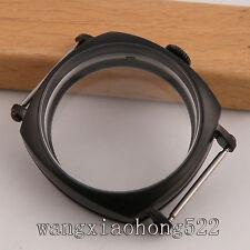 44mm parnis PVD vintage Watch CASE Classic fit 6498 6497 movement C026