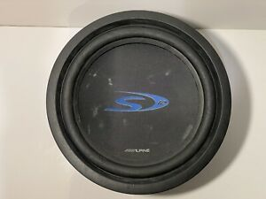 Alpine 12 Inch Subwoofer SWS-1223D Dual 2-ohm Voice Coils TESTED WORKING