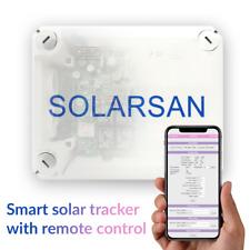 GPS Seguidor Solar dos ejes, Modulos Solarsan SV, F, SL
