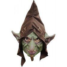 Goblin domovik capo completo LATTICE maschera Adulto Costume Halloween