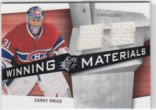 08/09 UD SPX CAREY PRICE WINNING MATERIALS DUAL JERSEY * MINT