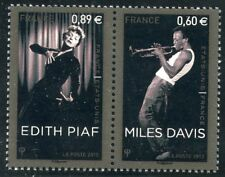 STAMP / TIMBRE  FRANCE  N° 4671/4672 ** EDITH PIAF / MILES DAVIS