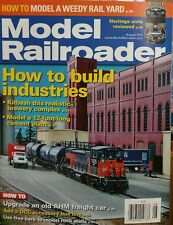 Model Railroader How To Build Industries Heritage Unit August 2014 FREE SHIPPING