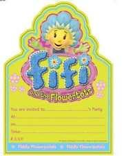 20 Pack FIFI & THE FLOWERTOTS PARTY INVITATIONS & Envelope Birthday Invites Kids